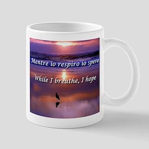 While I Breathe, I Hope Mugs