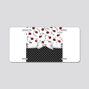 Little Ladybugs Aluminum License Plate