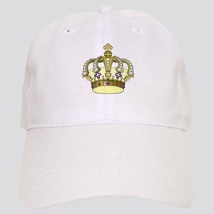 03096647653 Royal Blue And Yellow Hats - CafePress