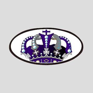 Purple Royal Crown Patch