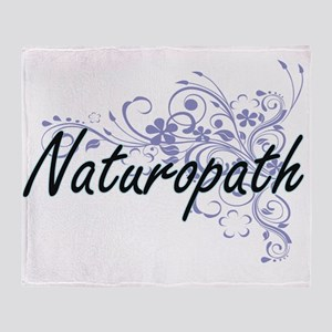 Naturopath Artistic Job Design with Throw Blanket
