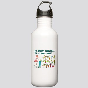 Flamingo Happy Hour Water Bottle