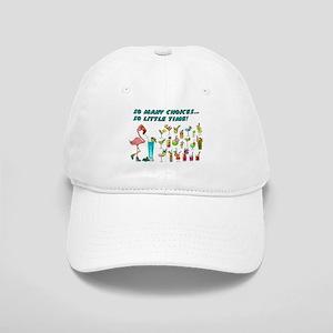 Flamingo Happy Hour Baseball Cap