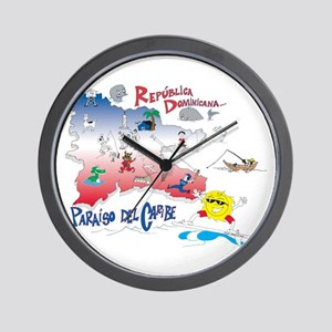 Quisqueya t-shirts Wall Clock