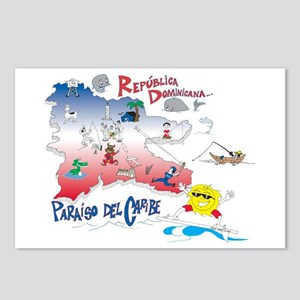 Quisqueya t-shirts Postcards (Package of 8)