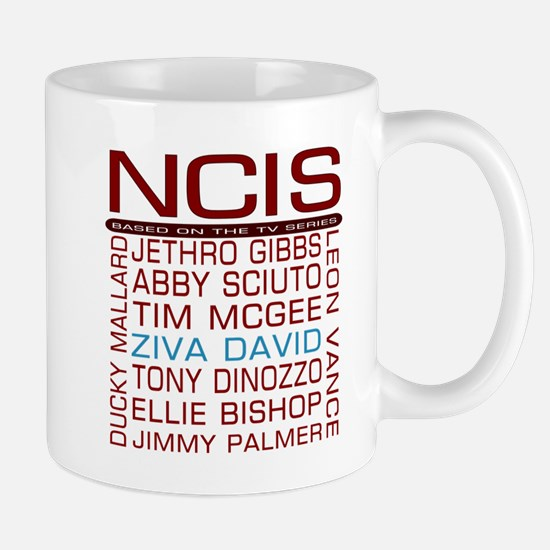 Red NCIS and Cast Mugs