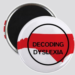 Decoding Dyslexia NC Magnets