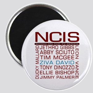 Red NCIS and Cast Magnets