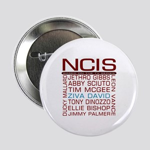 "Red NCIS and Cast 2.25"" Button"