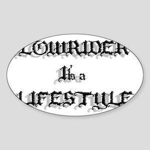 Lowrider It's a Lifestyle Sticker