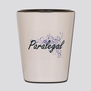 Paralegal Artistic Job Design with Flow Shot Glass