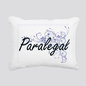 Paralegal Artistic Job D Rectangular Canvas Pillow