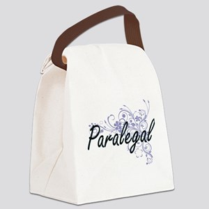 Paralegal Artistic Job Design wit Canvas Lunch Bag