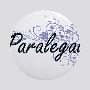 Paralegal Artistic Job Design with Round Ornament