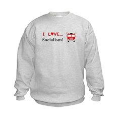 I Love Socialism Sweatshirt