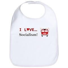I Love Socialism Bib