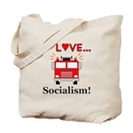 I Love Socialism Tote Bag