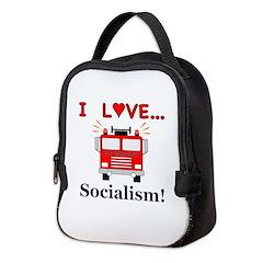 I Love Socialism Neoprene Lunch Bag