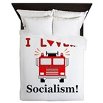 I Love Socialism Queen Duvet