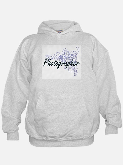 Photographer Artistic Job Design with Hoodie