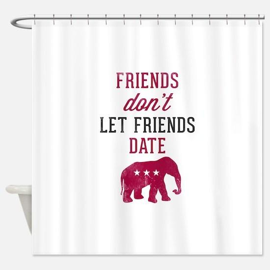 FDLFD Republicans Shower Curtain