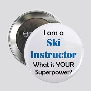 "ski instructor 2.25"" Button"