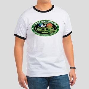 NASA's Veggie Program Logo Ringer T