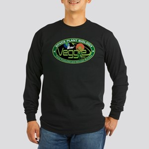 NASA's Veggie Program Log Long Sleeve Dark T-Shirt