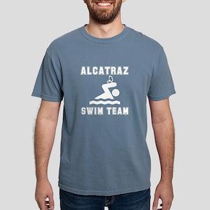 Alcatraz Swim Team White T-Shirt