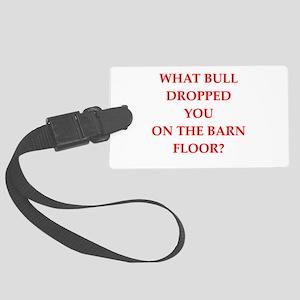 bull Luggage Tag