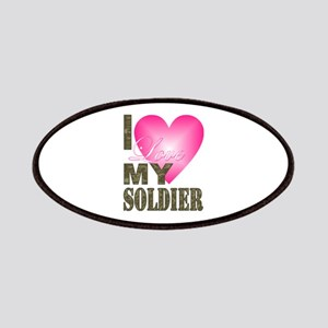 I love my soldier Patch