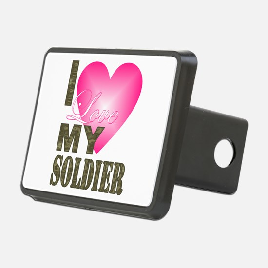 I love my soldier Hitch Cover