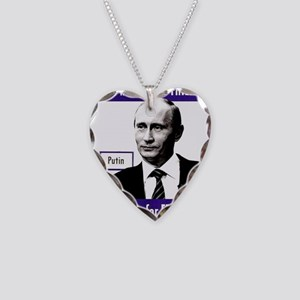 Vladimir Putin. This man is Necklace Heart Charm