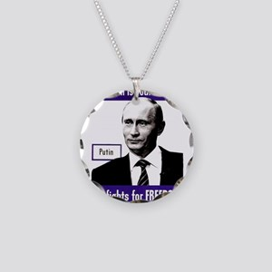 Vladimir Putin. This man is Necklace Circle Charm