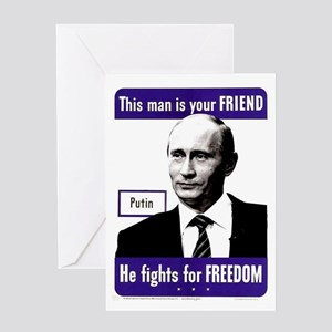 Vladimir Putin. This man is your F Greeting Cards