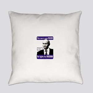 Vladimir Putin. This man is your Everyday Pillow