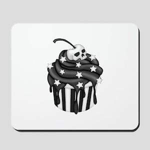 Cadaver Cupcake w/ Stripes, Skull & Stars Mousepad