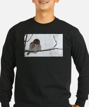 Northern Pygmy Owl- The Look Long Sleeve T-Shirt