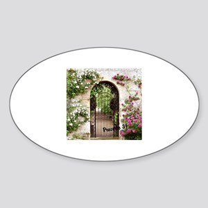 Proverbs 31 Woman at the City Gate Sticker