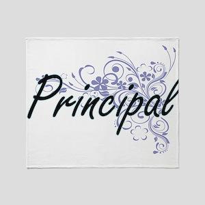 Principal Artistic Job Design with F Throw Blanket