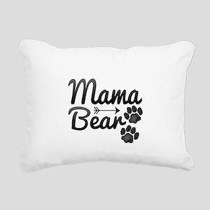 Mama Bear Rectangular Canvas Pillow