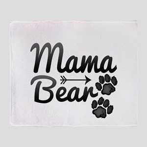 Mama Bear Throw Blanket