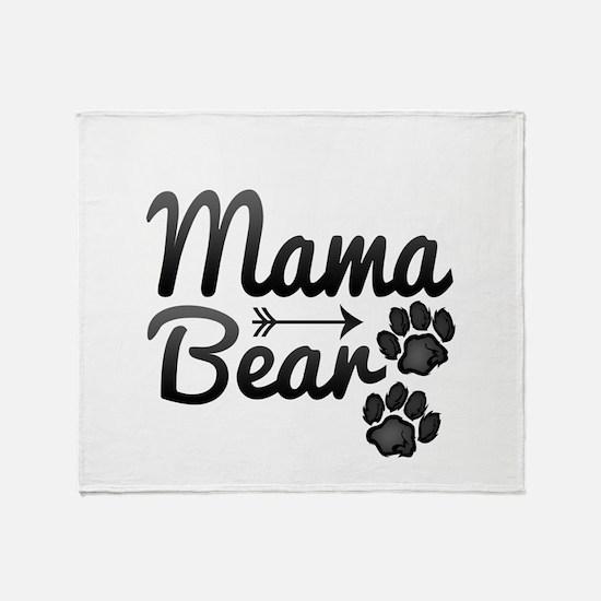 Mama Bear Throw Blanket