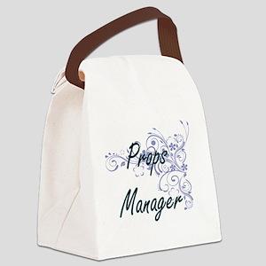 Props Manager Artistic Job Design Canvas Lunch Bag