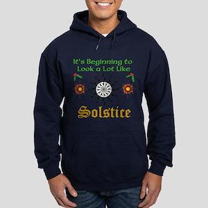 Looks A Lot Like Solstice Dark Hoodie Sweatshirt