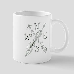 Gypsy Arrow Compass Mugs