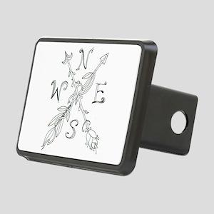Gypsy Arrow Compass Rectangular Hitch Cover