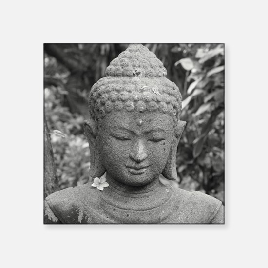 BUDDHA IN GREY Sticker