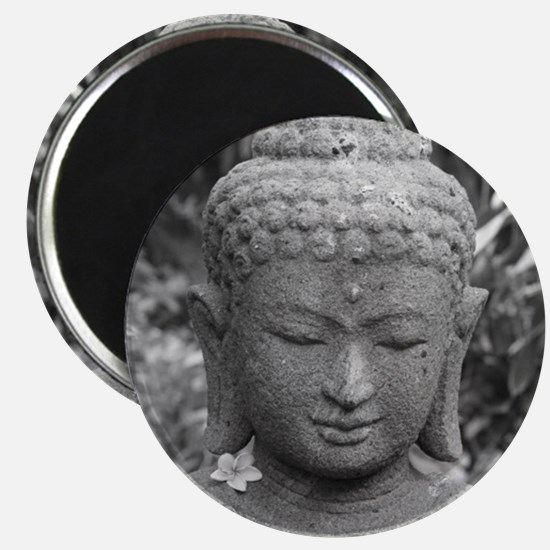 BUDDHA IN GREY Magnets