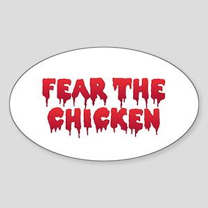 Fear the Chicken Sticker